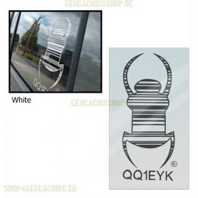 Travel bug - Sticker - 16,5 cm, decal, 2 st