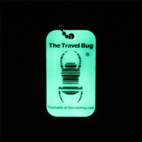 QR Travel Bug® - Glow in the dark
