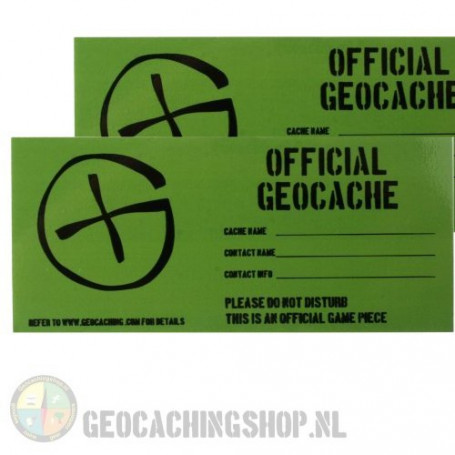 Cache Sticker Small - 4,5 x 10 cm