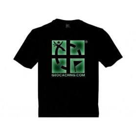 Groundspeak Logo, T-Shirt (fluorescent)