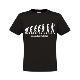 Evolution, T-Shirt (schwarz)