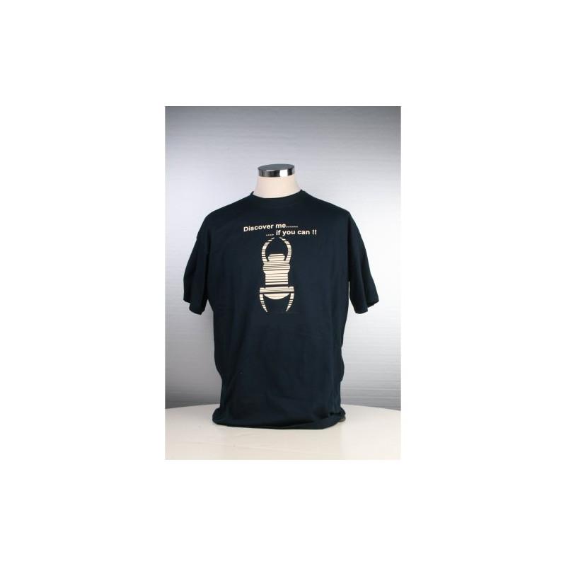 Travel Shirt - Childsize 134/146 - Blauw
