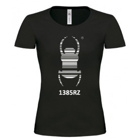 Travel Bug® - Girlie Shirt (zwart)
