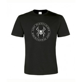 Lost Places Spider, T-Shirt (zwart/wit)