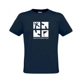 Groundspeak Logo, T-Shirt (blau)