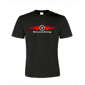 Flames, T-Shirt (black/red)