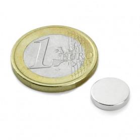 5 pieces 10 mm Round x 2 mm Neodym Magnets