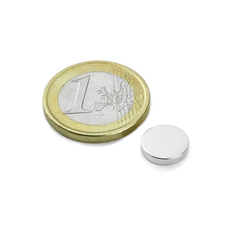 5 stuks 10 mm Round x 2 mm Neodym Magneten