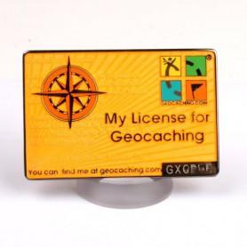 My Geocaching License - Yellow