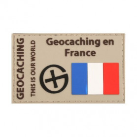 Badge Geocaching en France