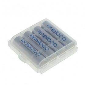 Eneloop AA 2000mAh 4 st + Schutzbox