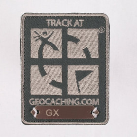 Trackable Patch Donker Grijs