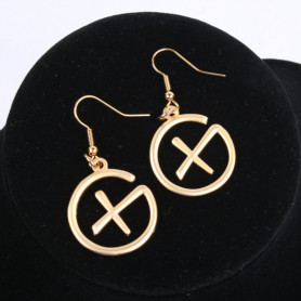 Geocaching earrings
