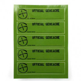 Cache Sticker PETling, 5 pcs