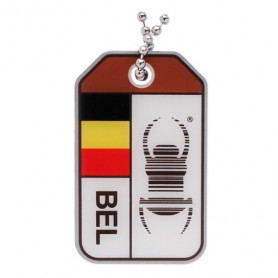 Travel Bug origins - Belgie