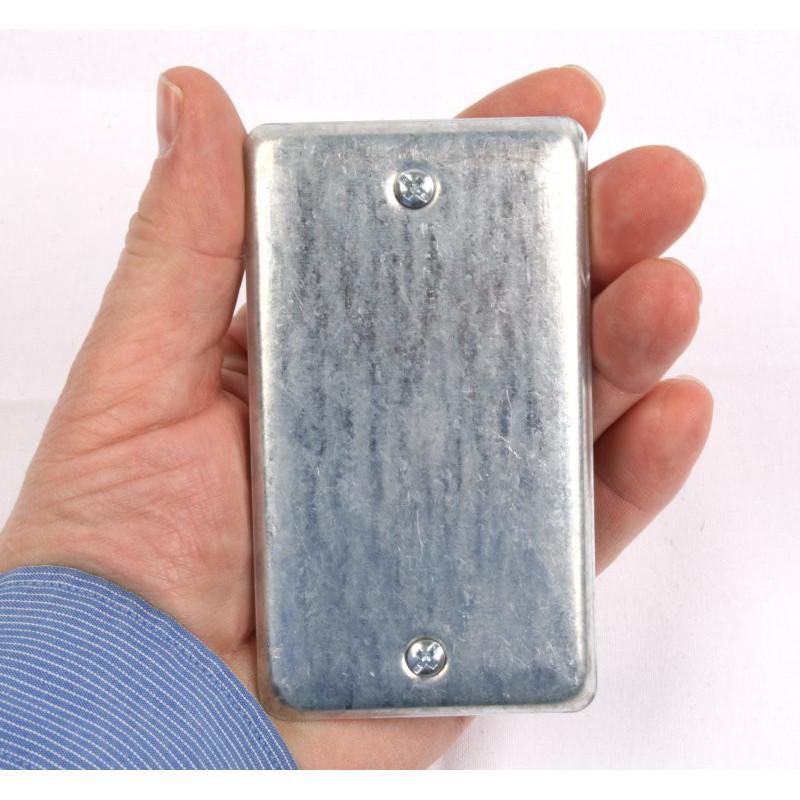Magnetische Metall Abdeckung Geocache