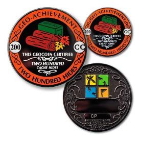 Hides - 200 Hides Geo-Achievement ® set