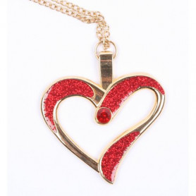Eternal Love Geocoin - a Gift of Love edition - Goud/Rood