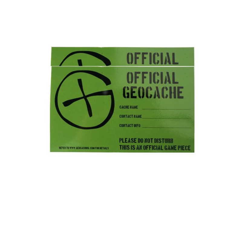 Cache Sticker Medium - 9 x 15 cm