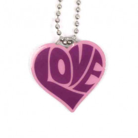 Love Tag - Purple