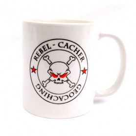 Koffie + thee mok: Rebel Cacher