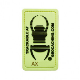 Travel bug Glow In The Dark Badge