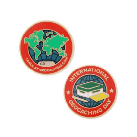 International Geocaching day 2016 Micro-Geocoin
