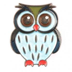 Owl Pin - Ocean Owl