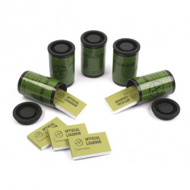 Filmcanister containerset of 5 - black