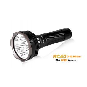 Fenix RC40 aufladbare LED Taschenlampe - 6000 Lumen