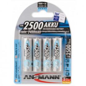 Ansmann AA 2500mAh 4 stuks in blister