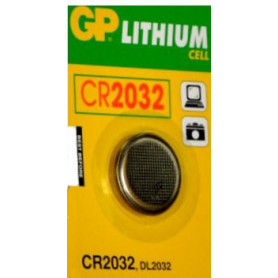 GP - CR2032 Lithium battery