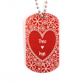 Valentine's Tag with personal text