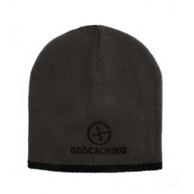Geocaching Knit Beanie - grey