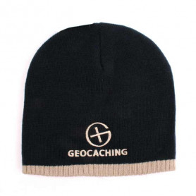Geocaching  Knit Beanie - blue