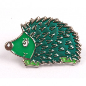 Hedgehog Pin - Artic Ice