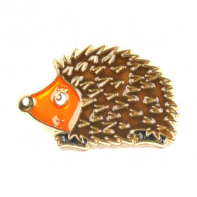 Hedgehog Pin - Brabant Forest