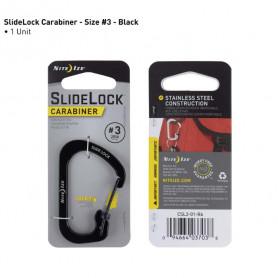 SlideLock Carabiner Größe 3