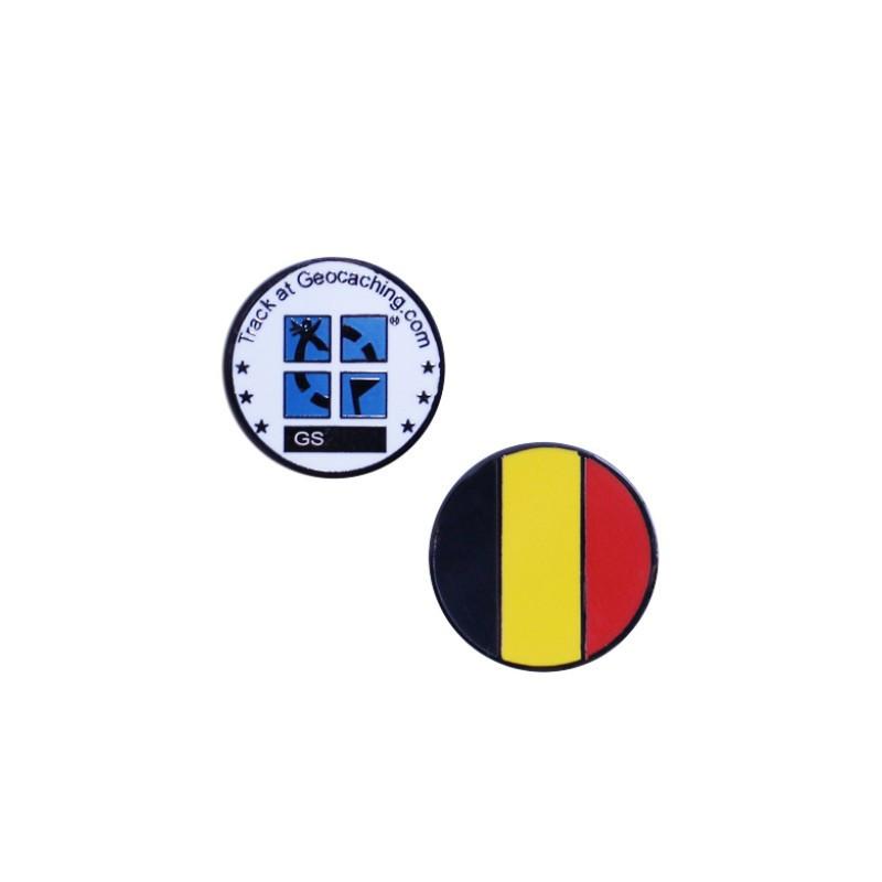 Country micro geocoin Belgium
