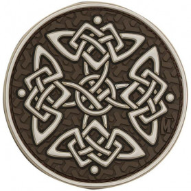 Maxpedition Celtic Cross badge - arid