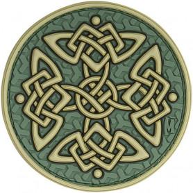 Maxpedition Celtic Cross badge - color