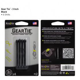 Gear Tie 7,6 cm 4-pack