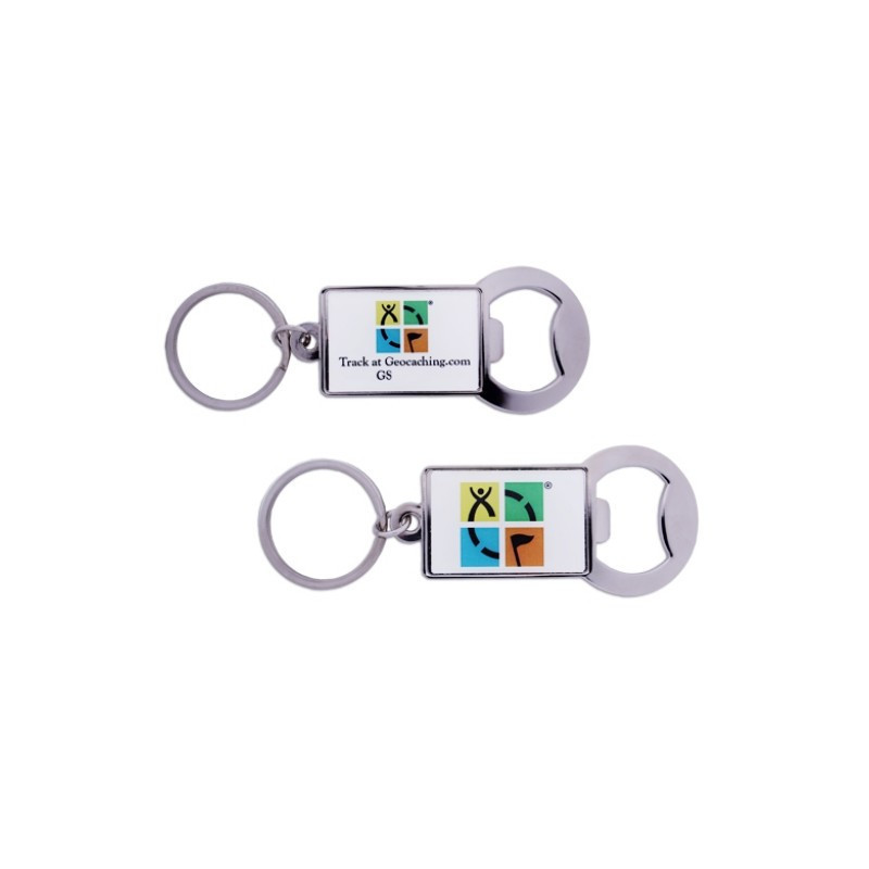 Bottle opener, trackable with Logo