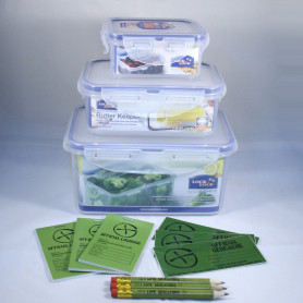 Lock en Triple Lock Cache Container set