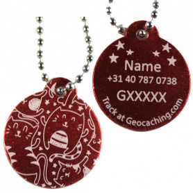 Log my Cat Tag (personalized)
