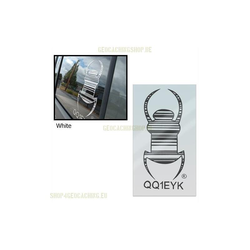Travel bug - Sticker - 16,5 cm - Decall, 4 pcs