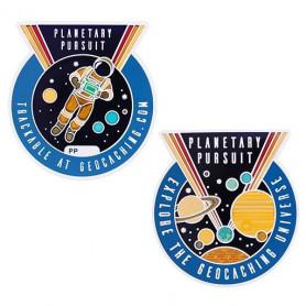 Geocoin Set - Planetary Pursuit (inkl. travel tag)