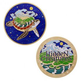 Geocoin Set - Hidden Creatures (inkl. travel tag)