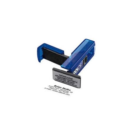 Log stempel - Pocket - Eigen tekst/logo