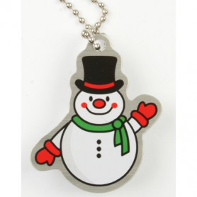 Travel tag Slushy the snowman